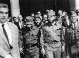 15 de abril. Fidel a su llegada a Washington DC. Foto: Revolución.