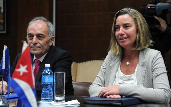 Resultado de imagen para Federica Mogherini EN CUBA