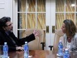 CUBA-LA HABANA-RECIBE MINISTRO DE CULTURA DE CUBA A ALTA REPRESE