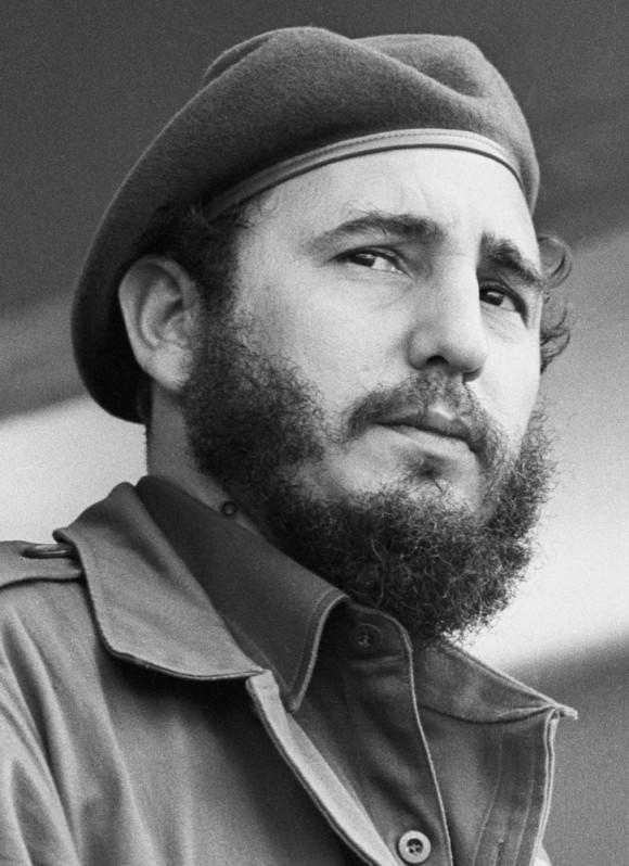 Fidel con boina. diciembre 7 de 1961. Foto: Liborio Noval