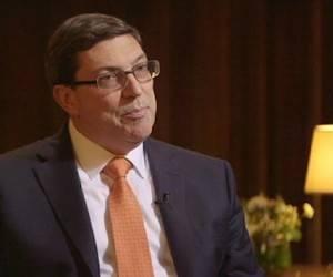 Euronews entrevista al ministro de Relaciones Exteriores de Cuba, Bruno Rodríguez Parrilla.