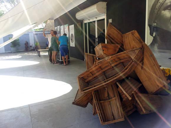 El Museo Orgánico de Romerillo. Foto: L Eduardo Domínguez/ Cubadebate.