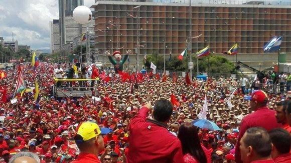 Nicólas Maduro: la oposición fracasó una vez más, la victoria es de la paz y del pueblo.