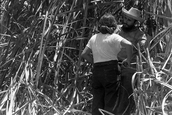 El Fidel conversador. Foto: Archivo.