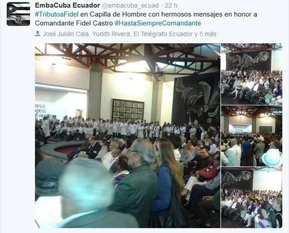 Desde Ecuador.