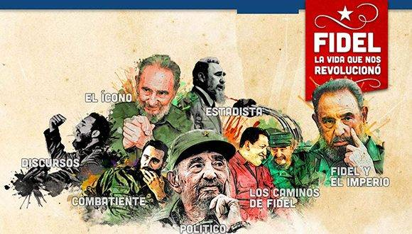 Hoy se cumple un mes de la partida física de Fidel. Imagen: TeleSur.