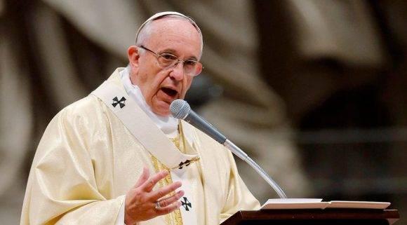 Papa Francisco. Foto tomada de Globovisión.