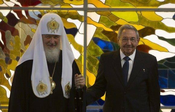 Encuentro del Presidente Raúl Castro y del Patriarca Kirill en el Palacio de la Revolución de La Habana. Foto: Ismael Francisco/ Cubadebate