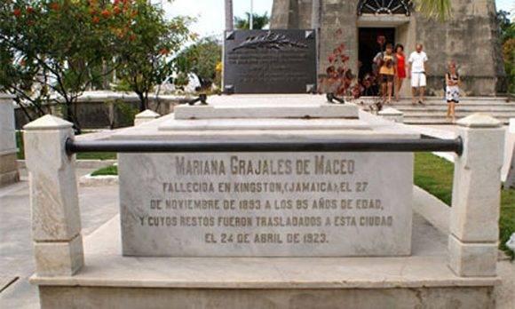 Restos de Mariana Grajales, la madre de los Maceo. Foto: Archivo.