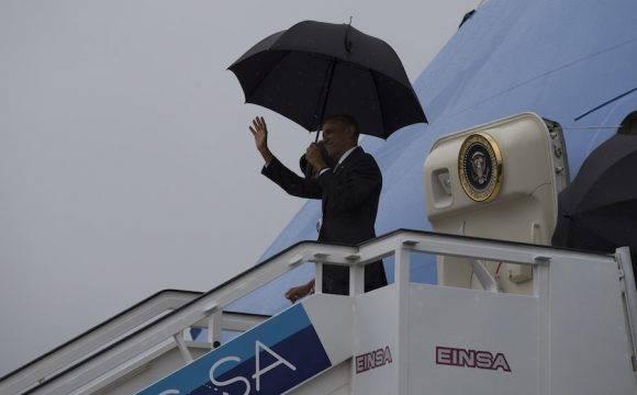La llegada de Obama a Cuba. Foto: Ismael Francisco/ Cubadebate