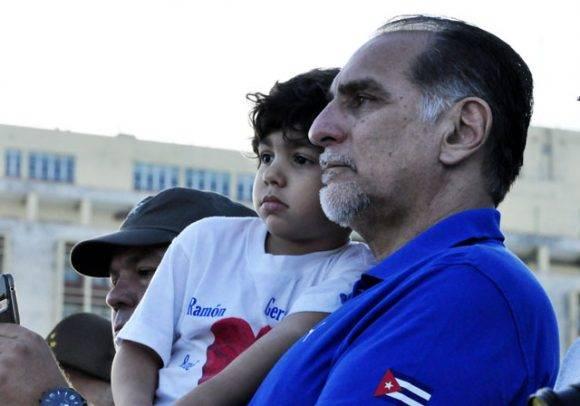 Héroe de la República de Cuba René González. Foto Roberto Garaicoa/ Cubadebate