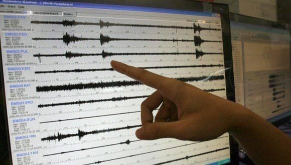 red de sismógrafo