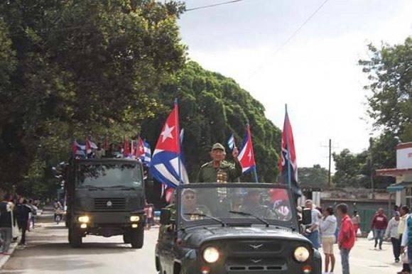 Caravana de la Libertad llega a La Habana. Foto: ACN.