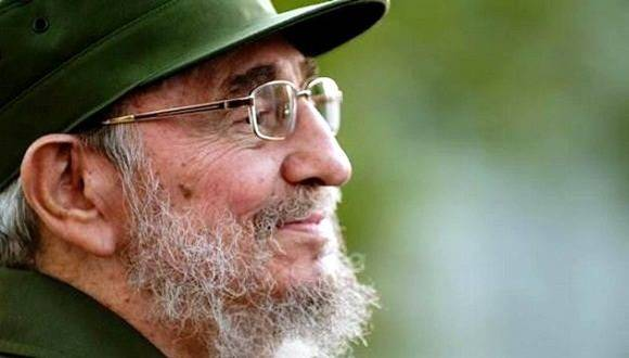 Fidel Castro Ruz, líder histórico de la Revolución Cubana.