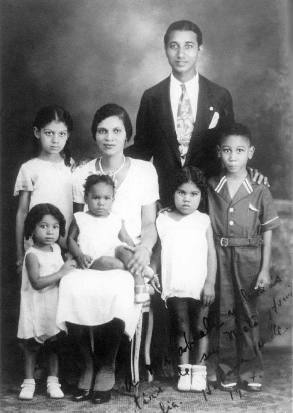 Familia Almeida Bosque. Foto tomada de Granma.