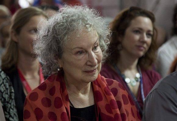 La escritora Margaret Atwood. Foto: Ladyrene Pérez/ Cubadebate.