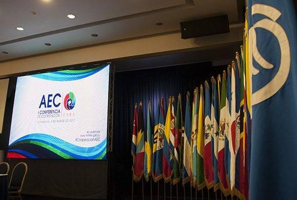 I Conferencia de Cooperación de la Asociación de Estados del Caribe (AEC). Foto: Ladyrene Pérez/ Cubadebate.