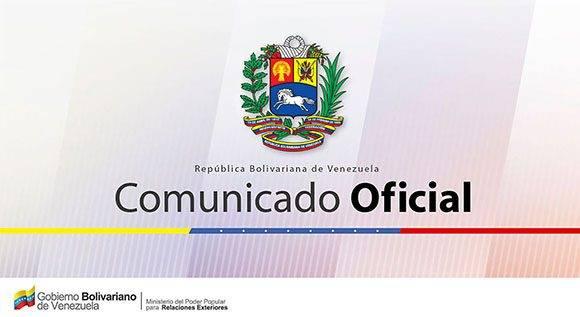 Comunicado Oficial de Venezuela