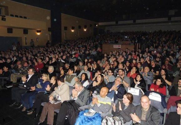 El homenaje a Fidel en Madrid reunió a mas de mil participantes. Foto: Página de Facebook del Embajador de Cuba en España