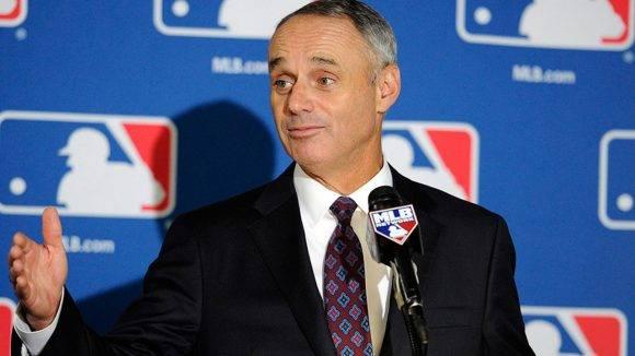 Rob Manfred. Foto: MLB.