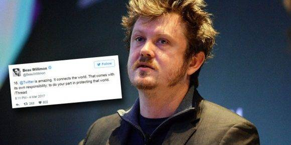 Beau Willimon, creador de 'House of Cards'.