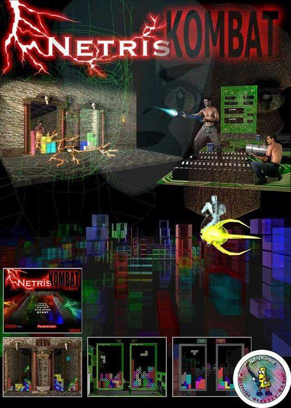 """""""NetrisKombat"""" fue quizás el juego más popular entre los producidos por el grupo."""