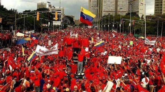 La Revolución bolivariana ha logrado numerosas conquistas. Foto tomada de mosaicovenezolano.blogspot.com.
