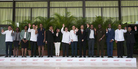 Foto oficial del XV Consejo Político del ALBA-TCP. Foto: Ladyrene Pérez/ Cubadebate.