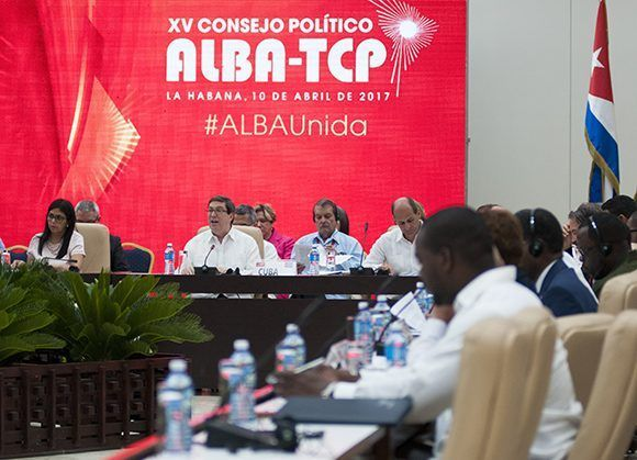 #ALBAUnida hoy en La Habana. Foto: Ladyrene Pérez/ Cubadebate.