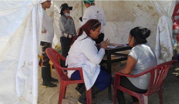 Hoy cumplen 18 días de la llegada de los profesionales cubanos a Piura. Foto: Andina.