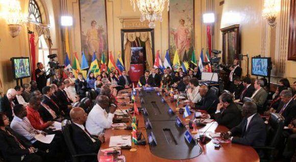 Cumbre del ALBA-TCP en Venezuela. Foto: Archivos.