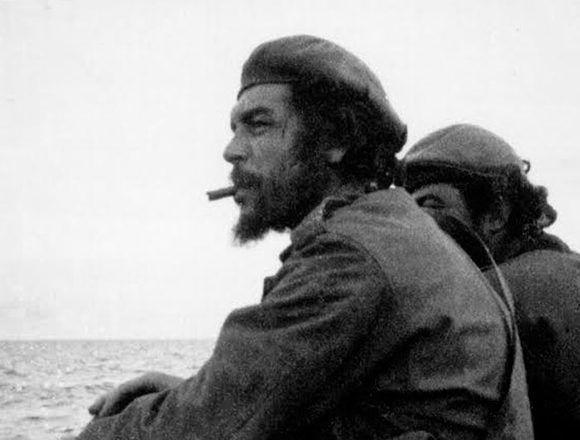 El Che Guevara desembarcó en el Congo por el lago Tanganica en abril de 1965.