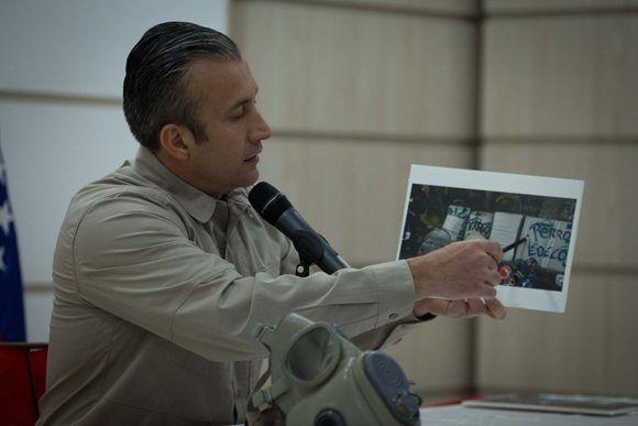 El Aissami anuncia captura de varios implicados. Foto: @ViceVenezuela