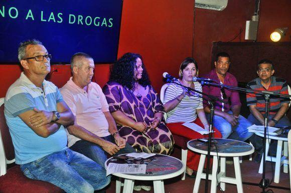Conferencia de Prensa. Foto: Juan Carlos Borjas