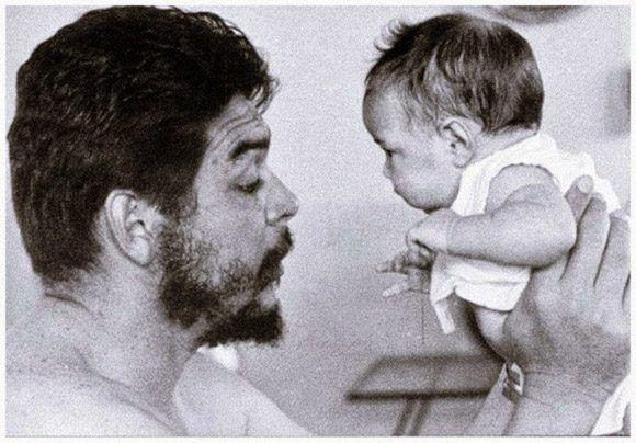 El Che padre. Foto: Cortesía del Centro de Estudios Ernesto Guevara.