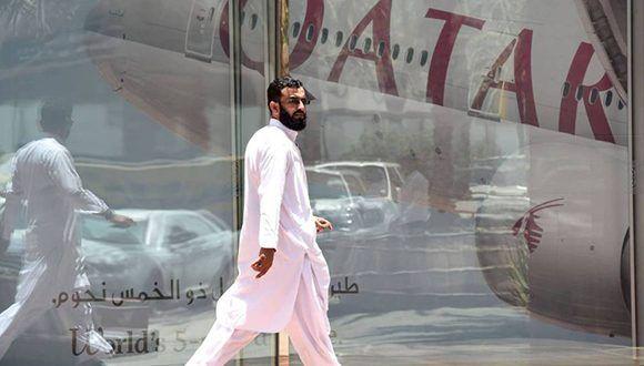 """Según el canal """" Al Arabiya"""", el cerco de países árabes que bloquea a Qatar envió 13 demandas a ese país y le dio un plazo de 10 días para cumplirlas. Foto: AFP."""