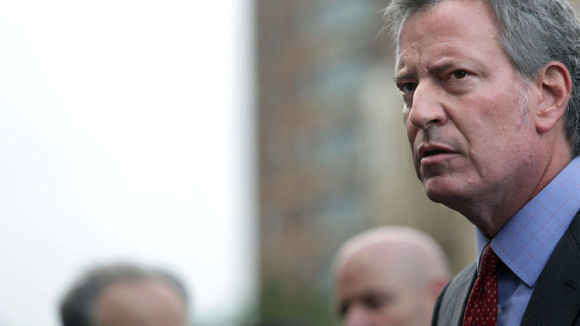 El alcalde Bill de Blasio. Foto: Getty Images.
