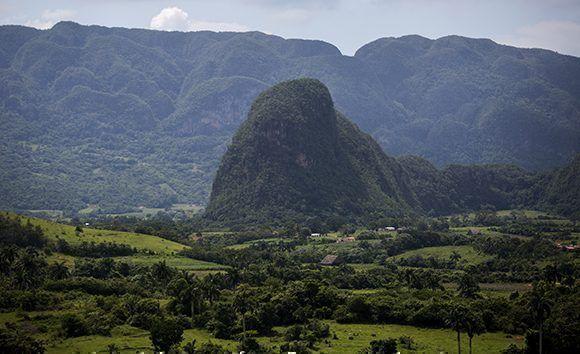 El Valle de Viñales es conocido como el jardín de Cuba. Foto: Irene Pérez/ Cubadebate.
