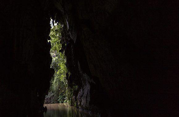 Cueva del Indio en Viñales, Pinar del Rio.
