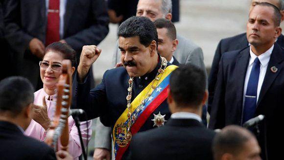 El presidente Nicolás Maduro anunció la creación de una criptomoneda venezolana, El Petro.  Foto: Reuters.