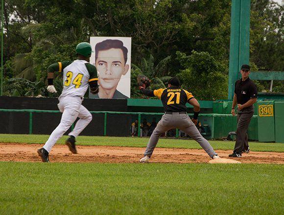 Pinar ha ganado los dos primeros juegos de la subserie frente a Guantánamo. Foto: Rafael Fernández/ ACN.
