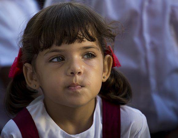 Inicio de curso escolar. Foto: Irene Pérez/ Cubadebate.