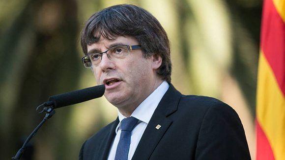 Carles Puigdemont. Foto: Albert García/ El País. / Archivo