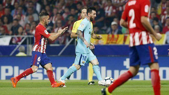 Messi no estuvo como en otras ocasiones.