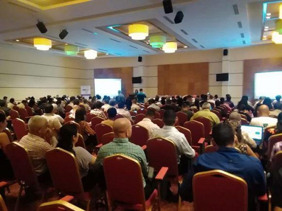 Foto:  Sesiones del evento Cibersociedad 2017. Foto: Lisandra Cabrera/ Granma.