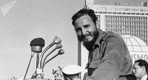 Fidel Castro. Foto: Pavel Barashev/ Sputnik.