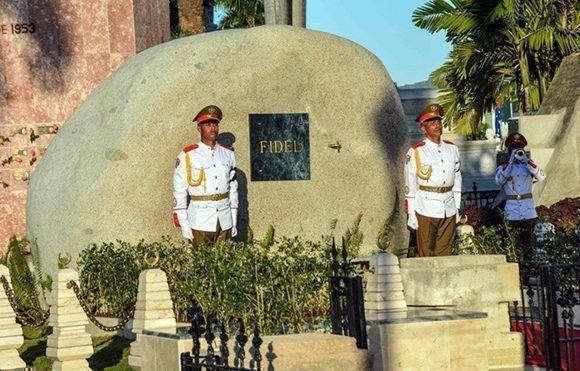 La peregrinación se realizará a un año de que las cenizas del Comandante fueran depositadas en el cementerio patrimonial Santa Ifigenia. Foto: Marcelino Vázquez Hernández/ ACN.