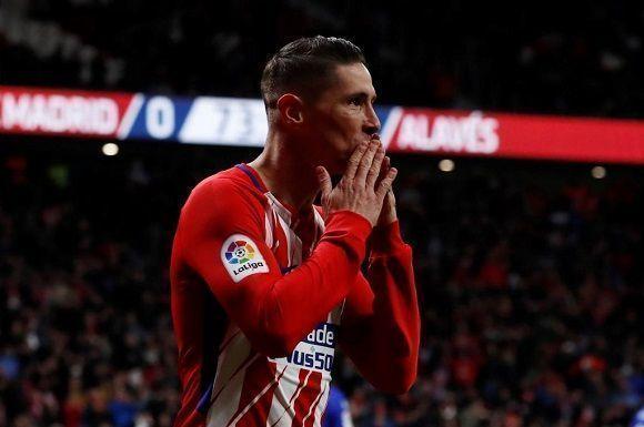 Fernando Torres disfruta de su anotación en la liga española. Foto: @Torres/ Twitter
