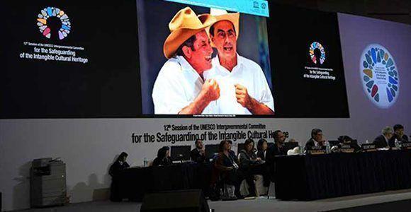 El Comité intergubernamental de la Unesco para salvaguardar el patrimonio incluyó el punto cubano dentro de su lista. Foto: Prensa Latina