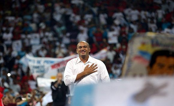 Héctor Ródriguez, président du PSUV dans l'état de Miranda. Photo: Correo del Orinoco.